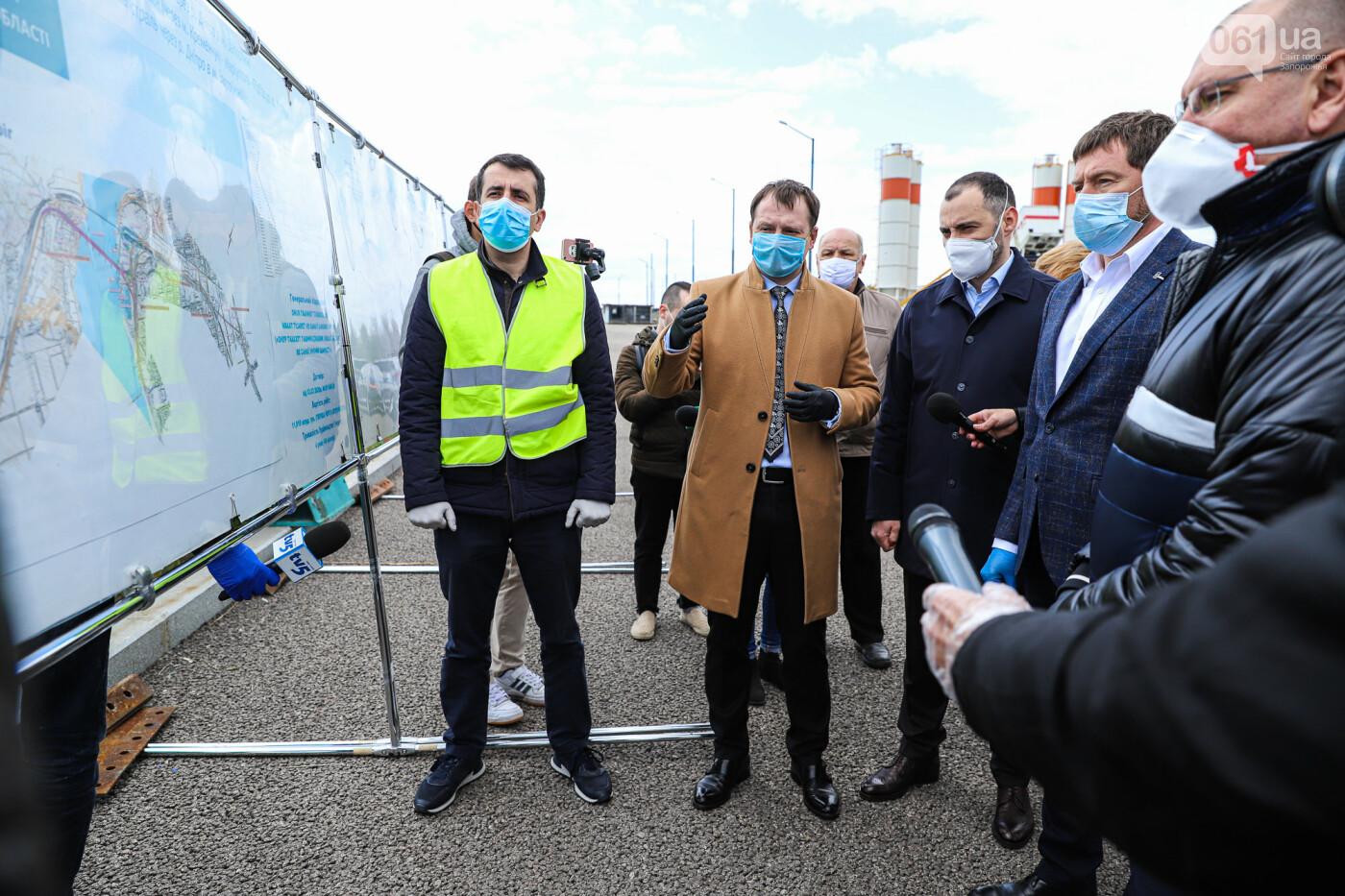 Глава Укравтодора побывал на запорожских мостах — планирует их достроить за два года, - ФОТОРЕПОРТАЖ , фото-38