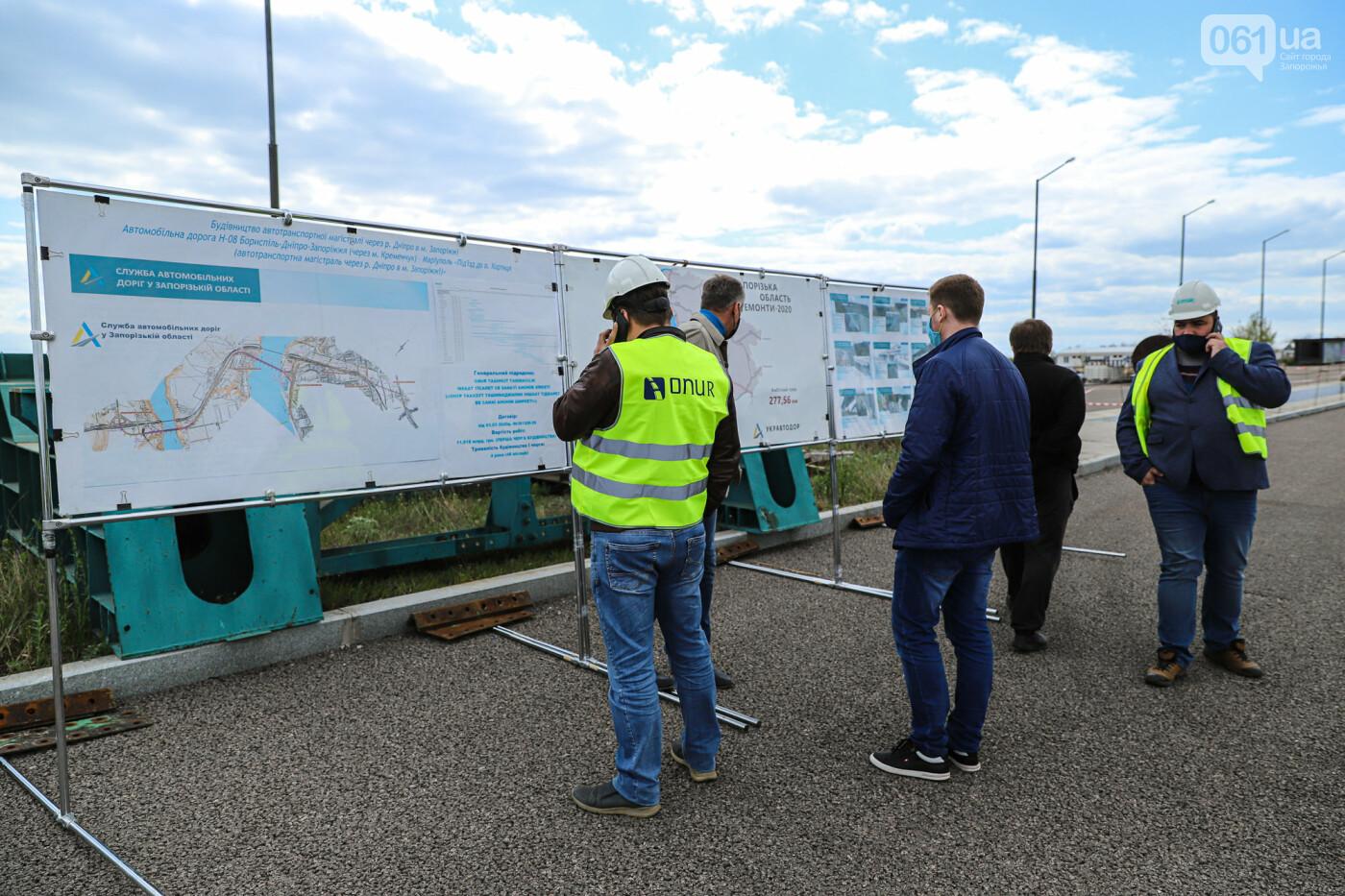 Глава Укравтодора побывал на запорожских мостах — планирует их достроить за два года, - ФОТОРЕПОРТАЖ , фото-41