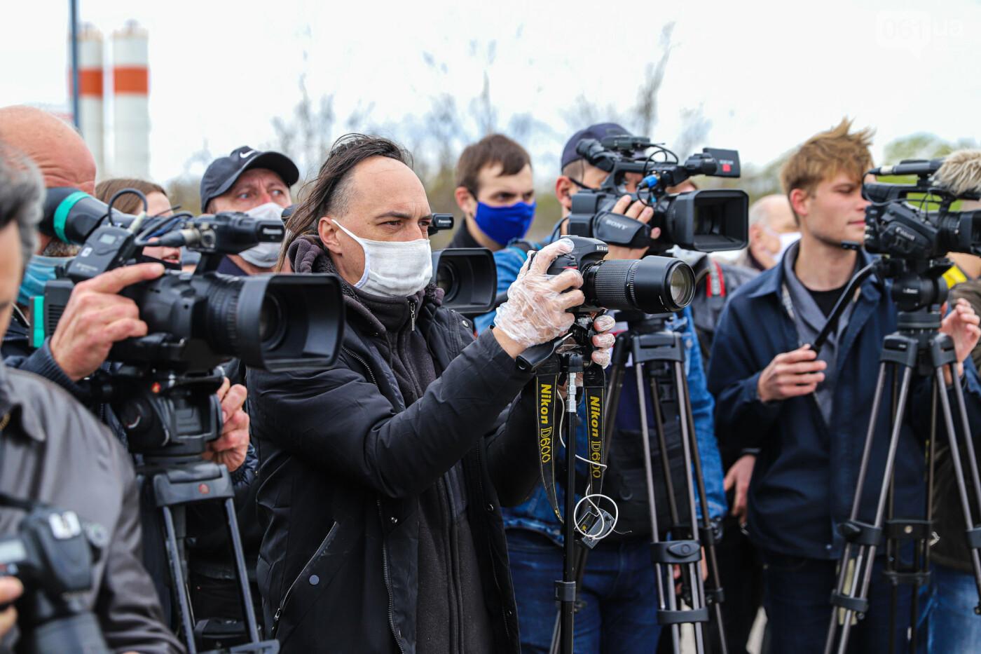 Глава Укравтодора побывал на запорожских мостах — планирует их достроить за два года, - ФОТОРЕПОРТАЖ , фото-46
