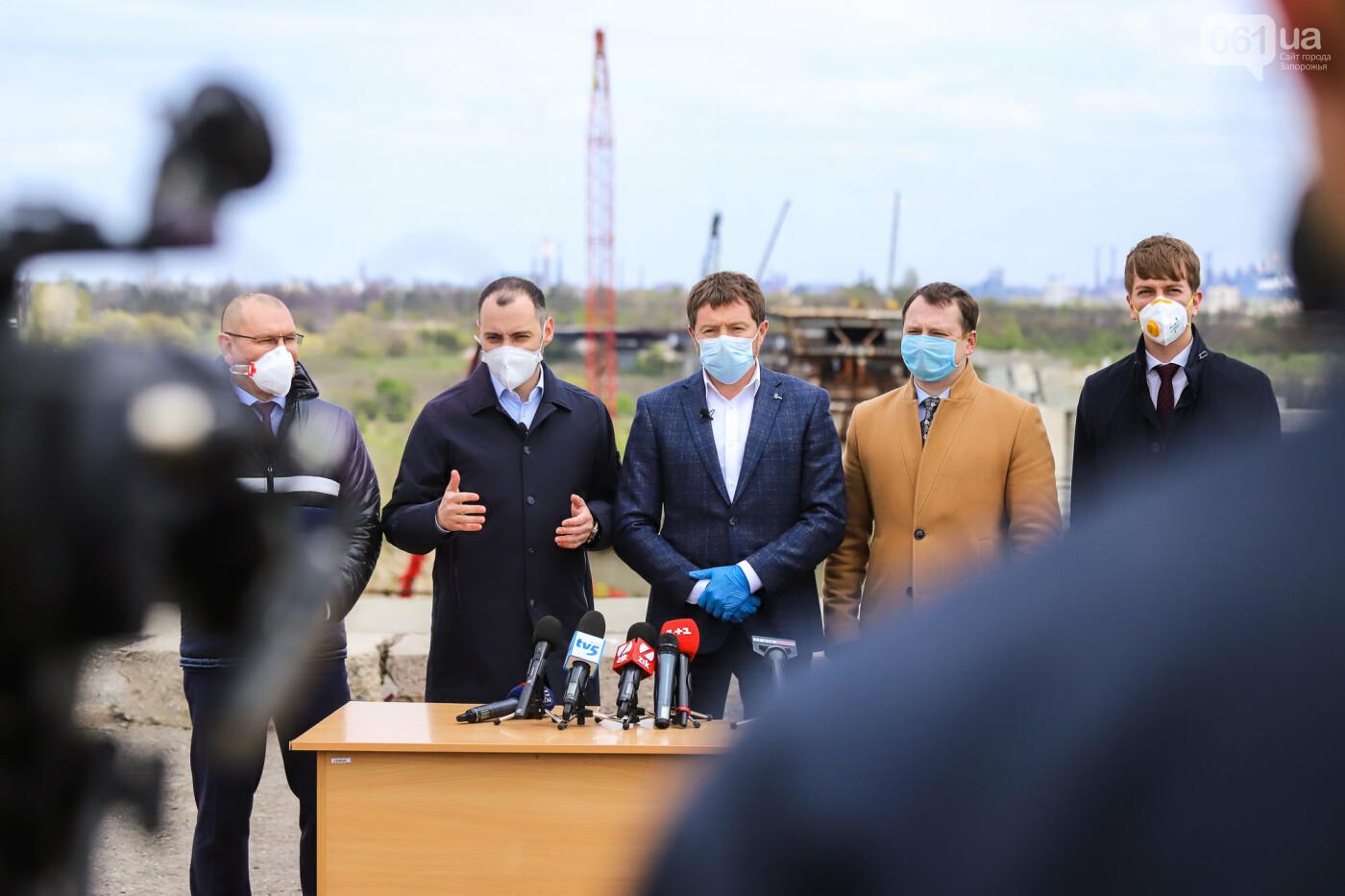 Глава Укравтодора побывал на запорожских мостах — планирует их достроить за два года, - ФОТОРЕПОРТАЖ , фото-45