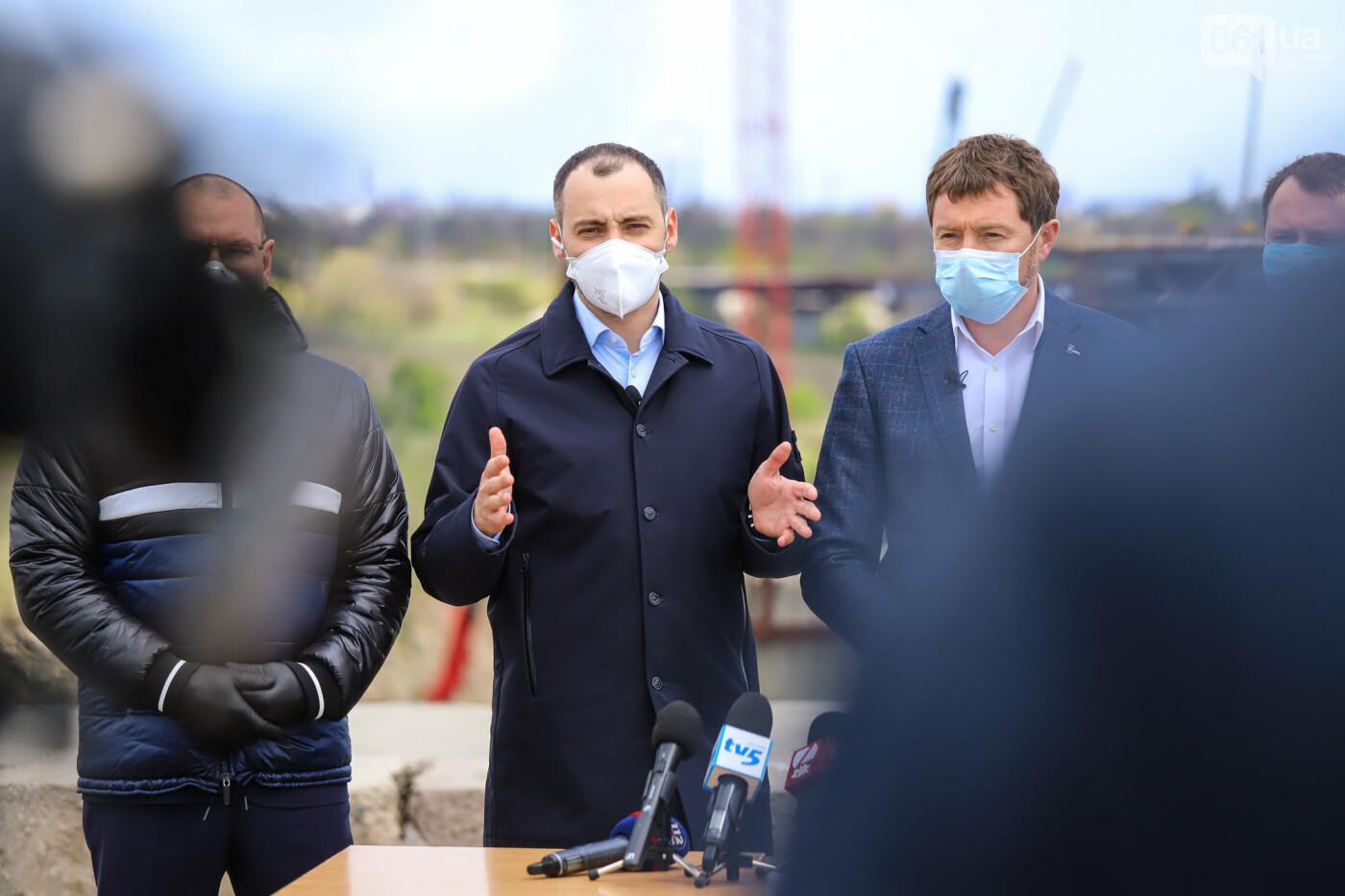 Глава Укравтодора побывал на запорожских мостах — планирует их достроить за два года, - ФОТОРЕПОРТАЖ , фото-9