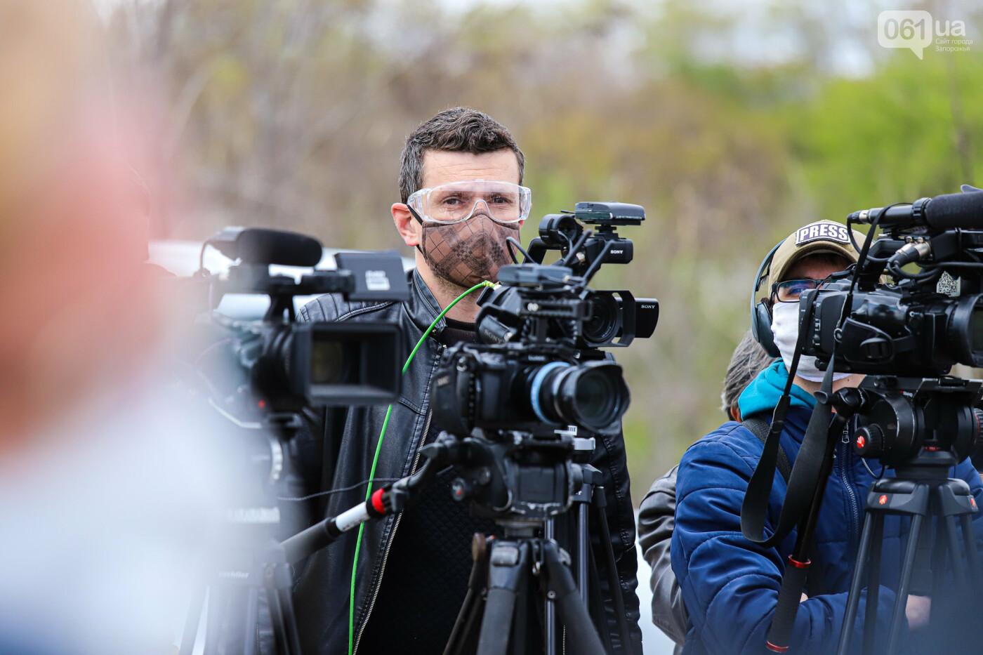 Глава Укравтодора побывал на запорожских мостах — планирует их достроить за два года, - ФОТОРЕПОРТАЖ , фото-48