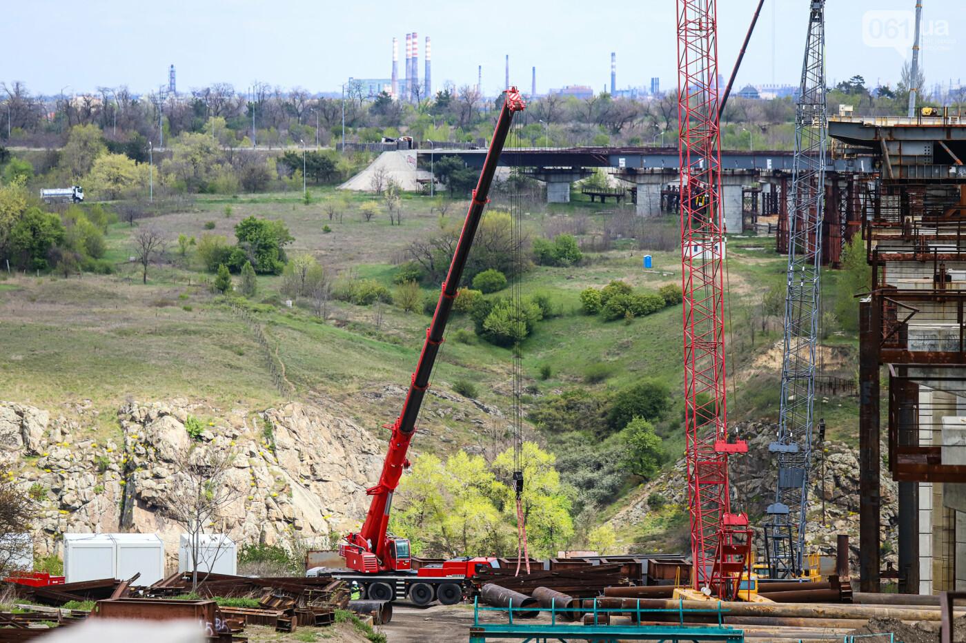 Глава Укравтодора побывал на запорожских мостах — планирует их достроить за два года, - ФОТОРЕПОРТАЖ , фото-8
