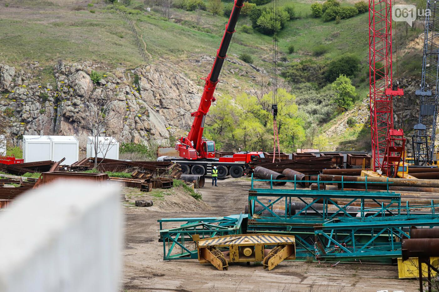 Глава Укравтодора побывал на запорожских мостах — планирует их достроить за два года, - ФОТОРЕПОРТАЖ , фото-20