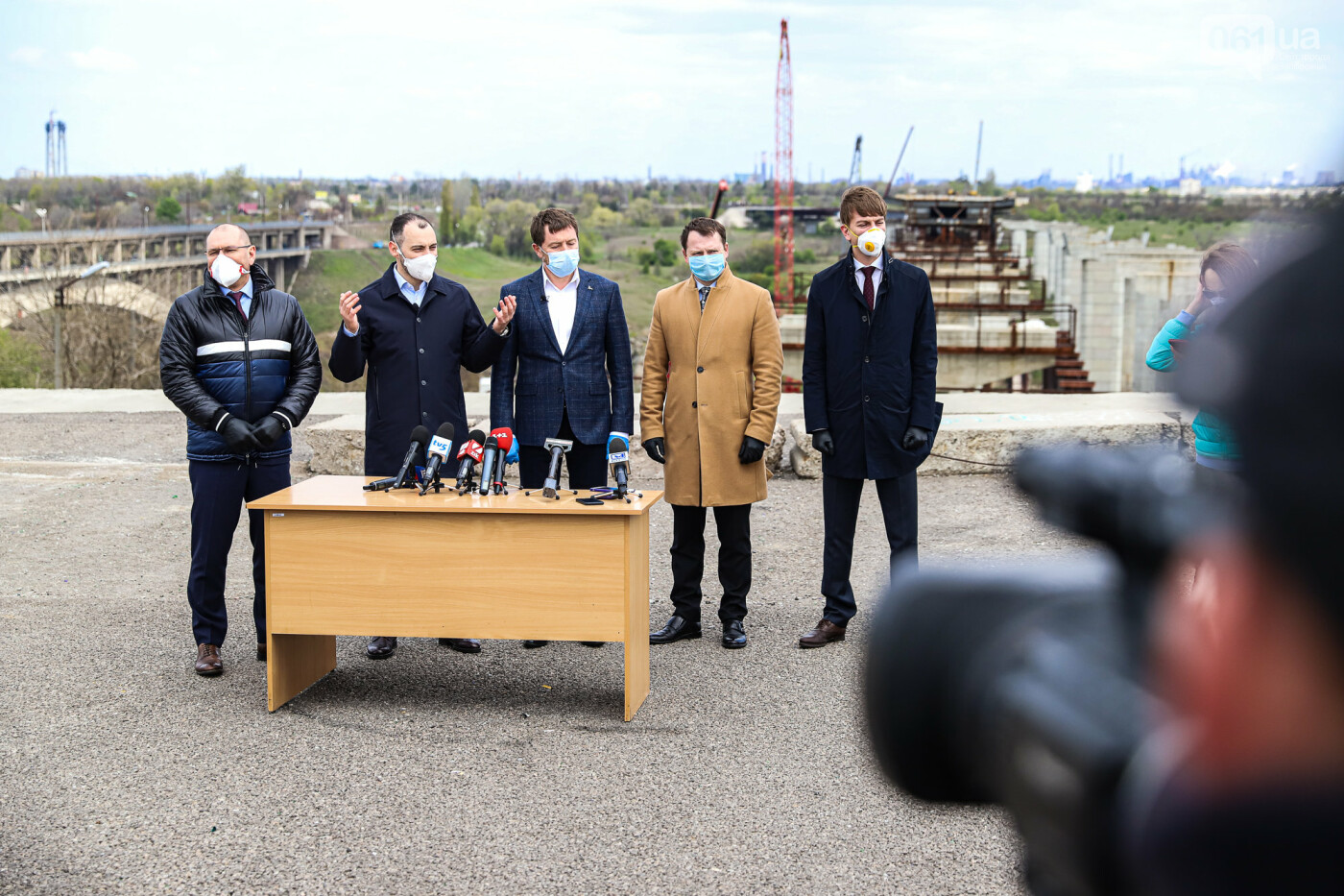 Глава Укравтодора побывал на запорожских мостах — планирует их достроить за два года, - ФОТОРЕПОРТАЖ , фото-10