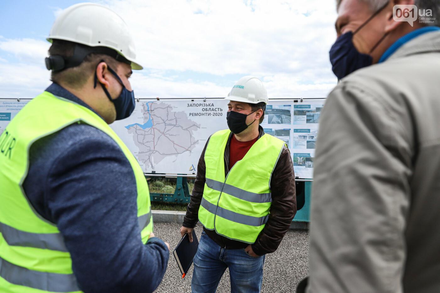 Глава Укравтодора побывал на запорожских мостах — планирует их достроить за два года, - ФОТОРЕПОРТАЖ , фото-44