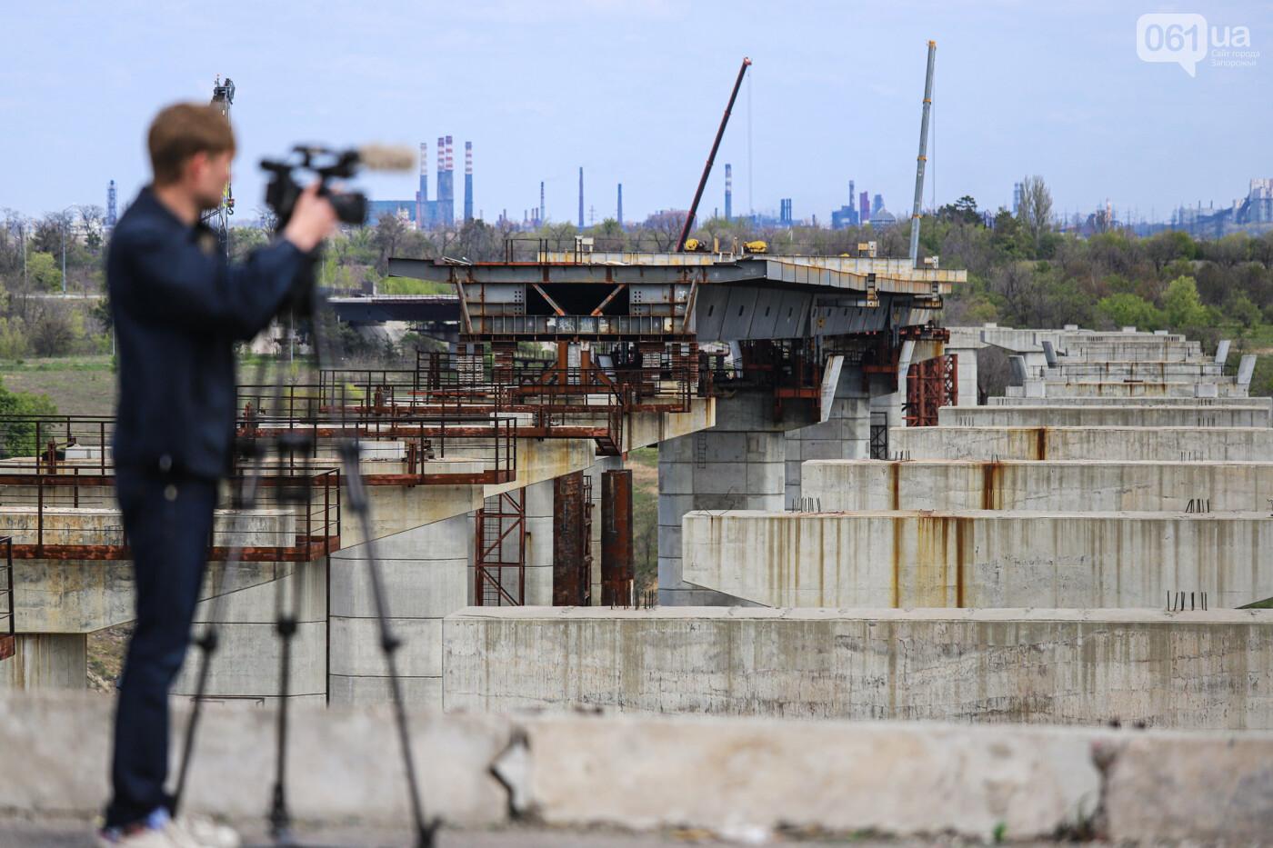 Глава Укравтодора побывал на запорожских мостах — планирует их достроить за два года, - ФОТОРЕПОРТАЖ , фото-22