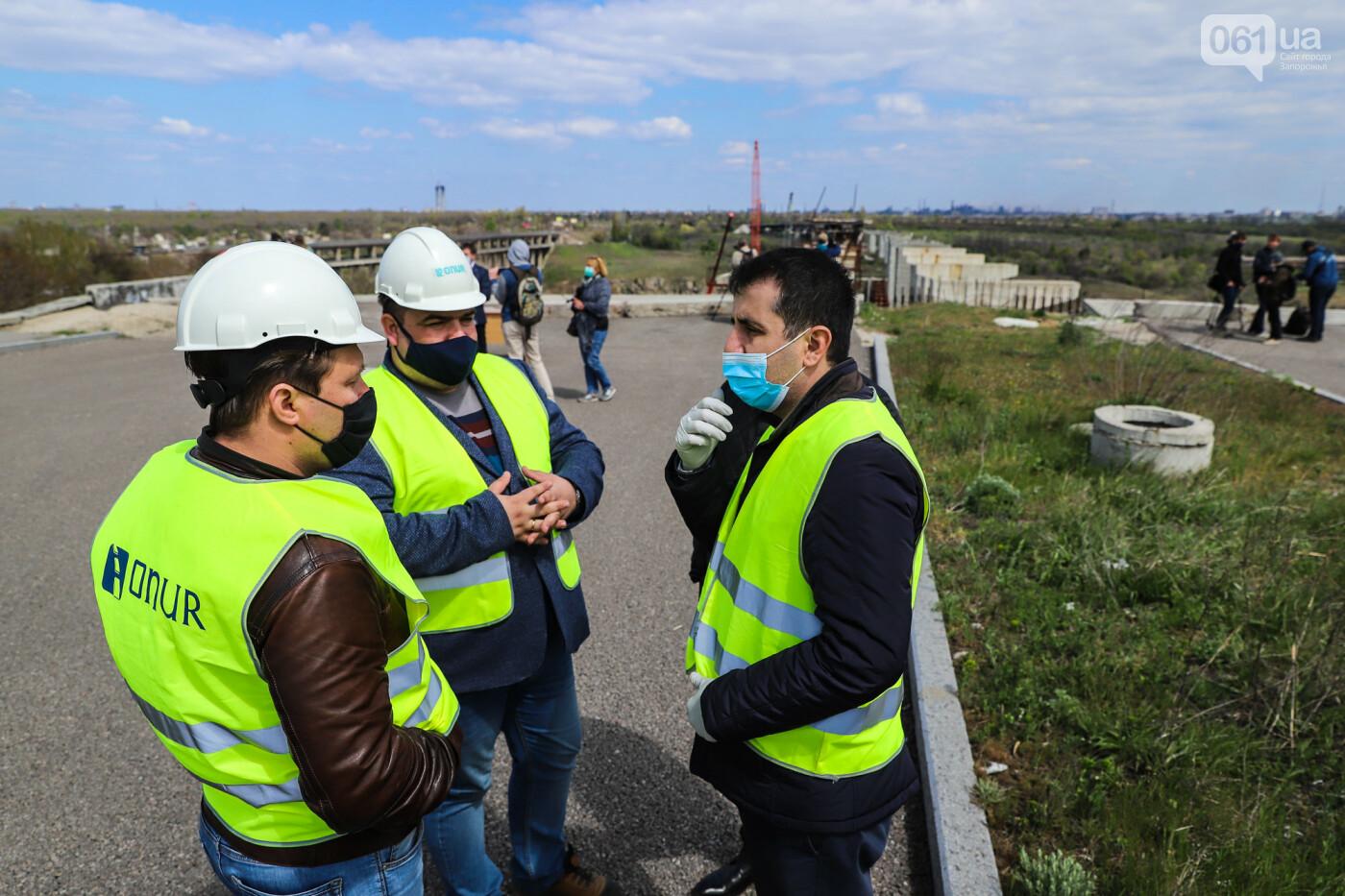 Глава Укравтодора побывал на запорожских мостах — планирует их достроить за два года, - ФОТОРЕПОРТАЖ , фото-51