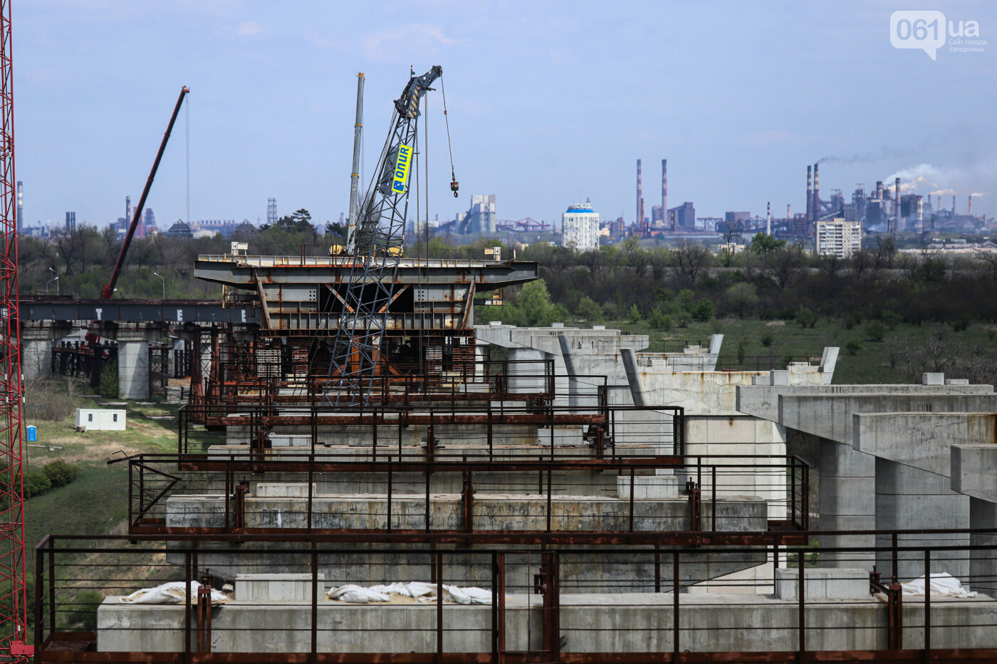 Глава Укравтодора побывал на запорожских мостах — планирует их достроить за два года, - ФОТОРЕПОРТАЖ , фото-23