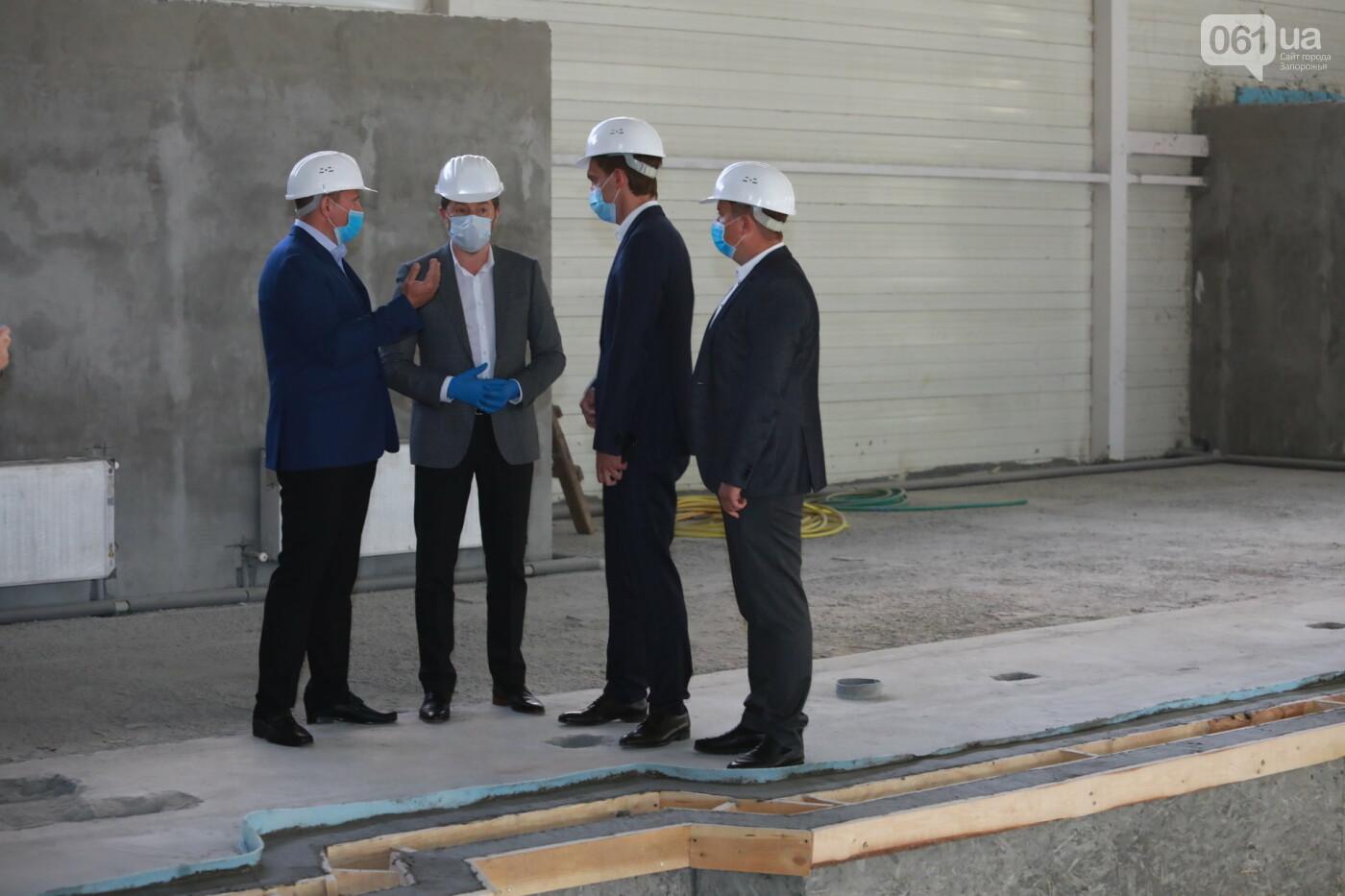 В Мелитополе полным ходом идет строительство водно-спортивного комплекса на 78 миллионов, - ФОТО, фото-6