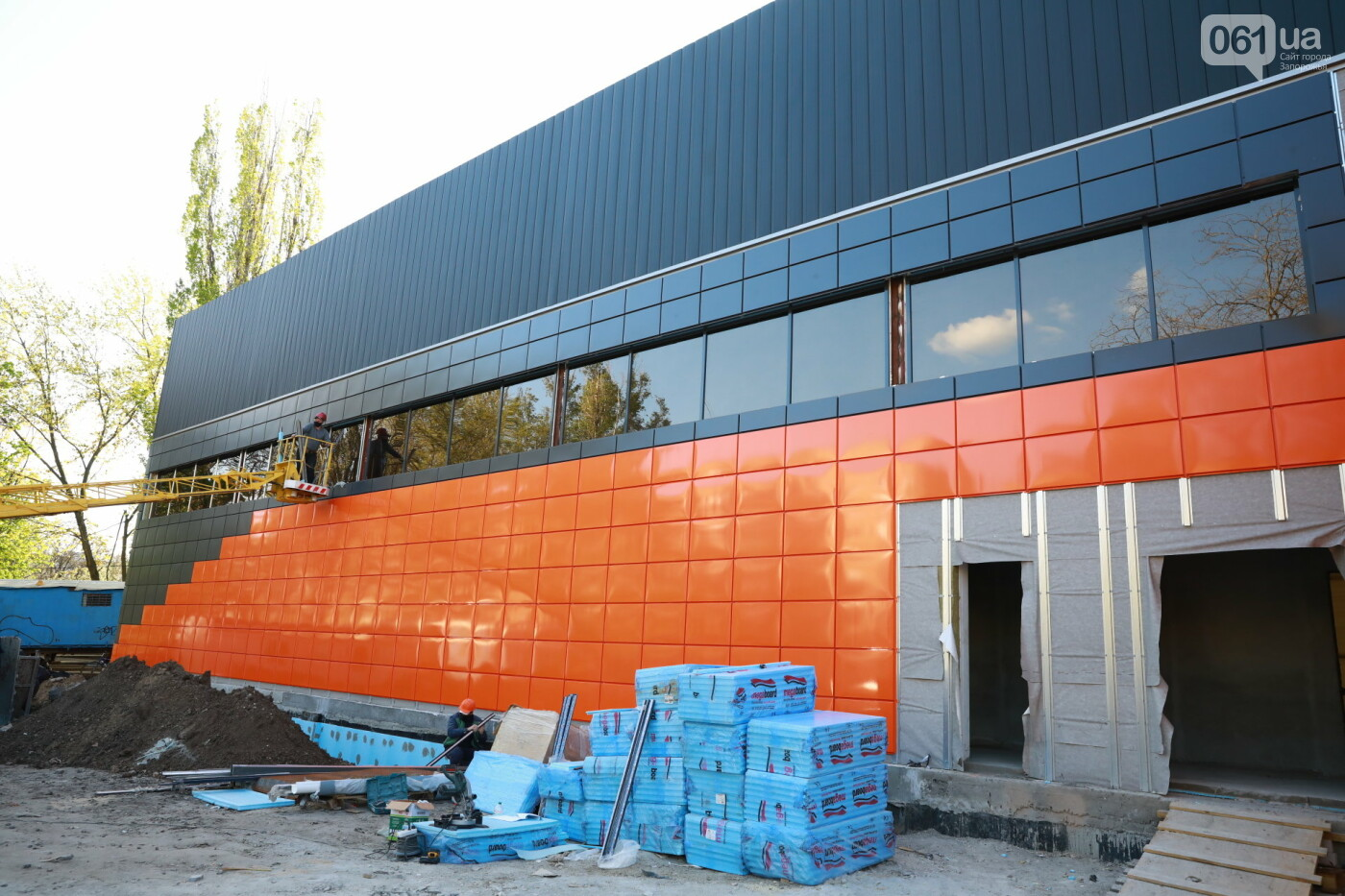 В Мелитополе полным ходом идет строительство водно-спортивного комплекса на 78 миллионов, - ФОТО, фото-9