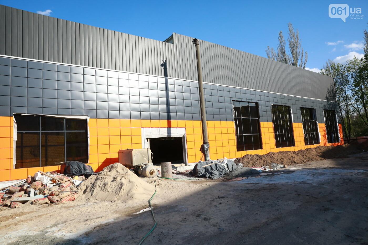 В Мелитополе полным ходом идет строительство водно-спортивного комплекса на 78 миллионов, - ФОТО, фото-1