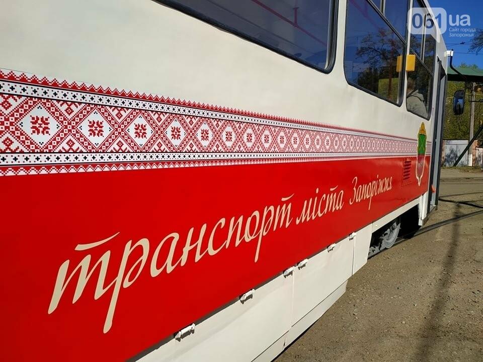 В Запорожье капитально отремонтировали еще два  трамвайных вагона за 600 тысяч гривен, фото-2