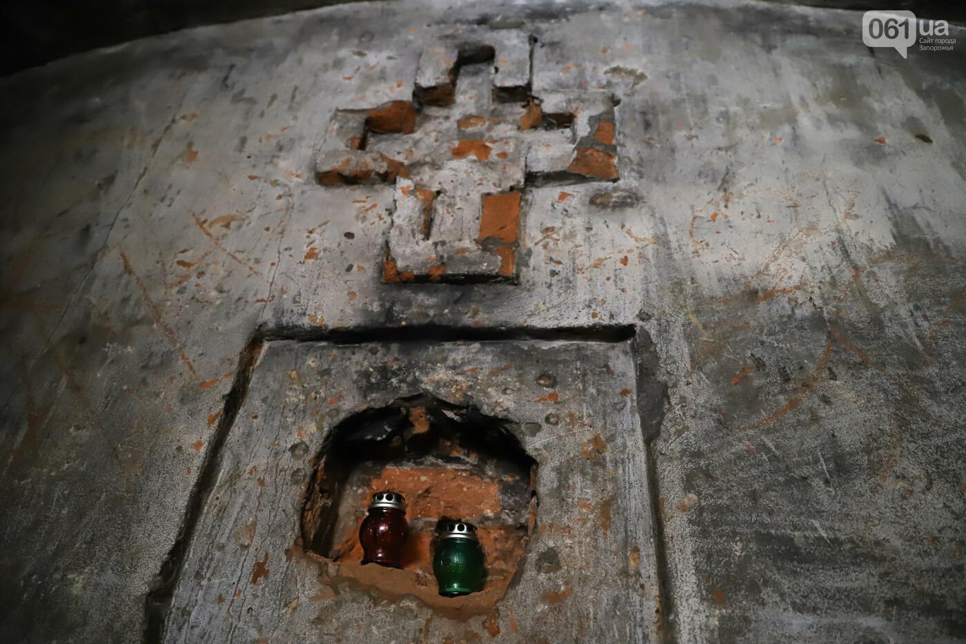 Семейный склеп графа Канкрина и фундамент церкви XIX столетия - под Запорожьем готовят новый туристический объект, - ФОТОРЕПОРТАЖ , фото-20