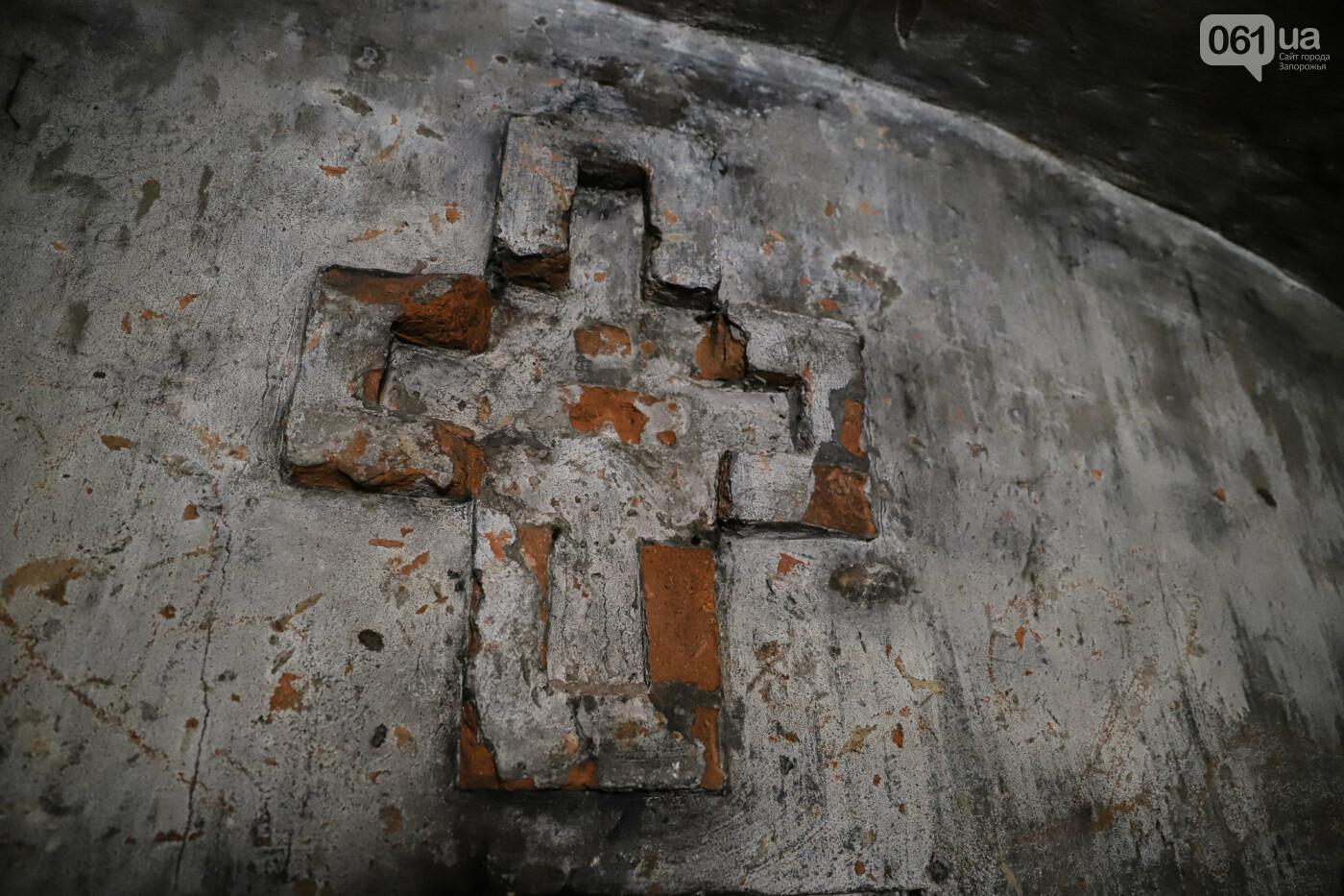 Семейный склеп графа Канкрина и фундамент церкви XIX столетия - под Запорожьем готовят новый туристический объект, - ФОТОРЕПОРТАЖ , фото-21