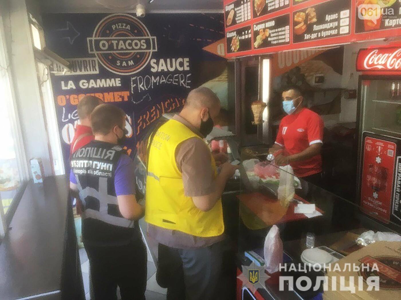 Без маски и без регистрации: в Запорожье полиция составила админпротоколы на гражданина Сирии , фото-1