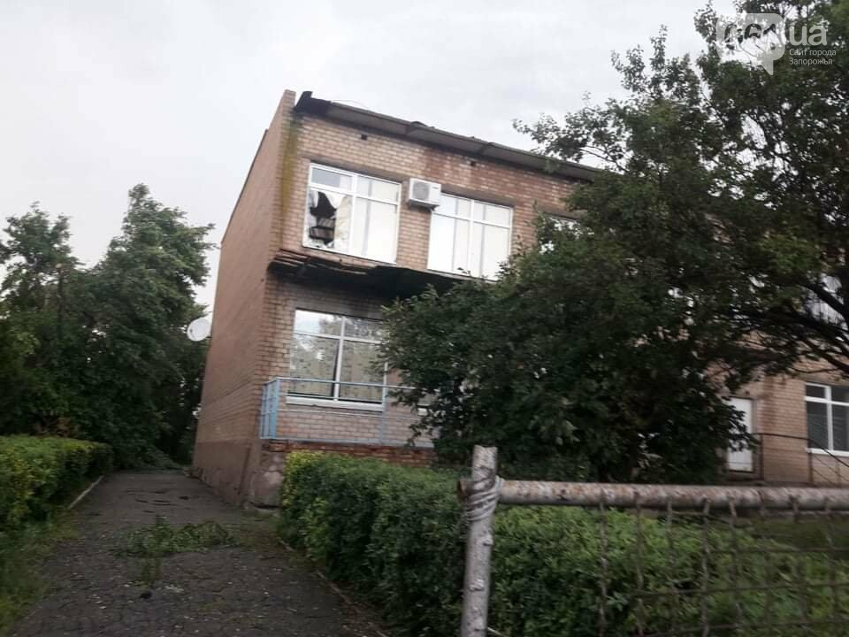Шквальный ветер обесточил дома и повалил деревья в Запорожской области, - ФОТО, фото-5