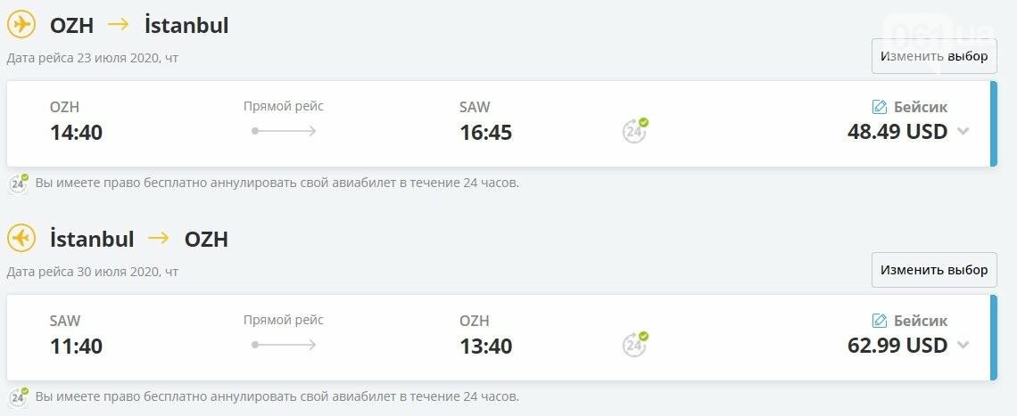 Турецкая авиакомпания возобновила регулярные рейсы из Запорожья в Стамбул, фото-1