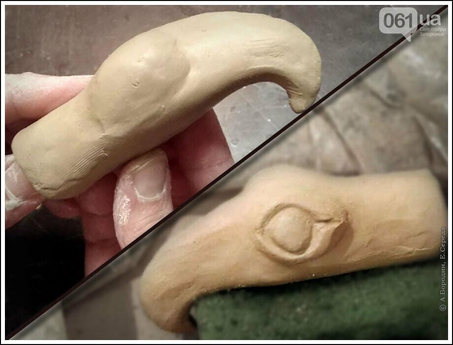 Следами археологической экспедиции Днепростроя: Запорожский грифон, фото-4