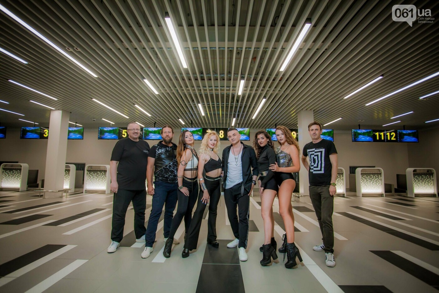 В новом терминале запорожского аэропорта сняли музыкальный клип , фото-1