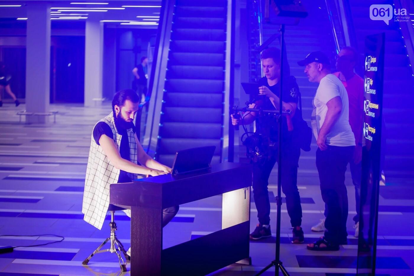 В новом терминале запорожского аэропорта сняли музыкальный клип , фото-2
