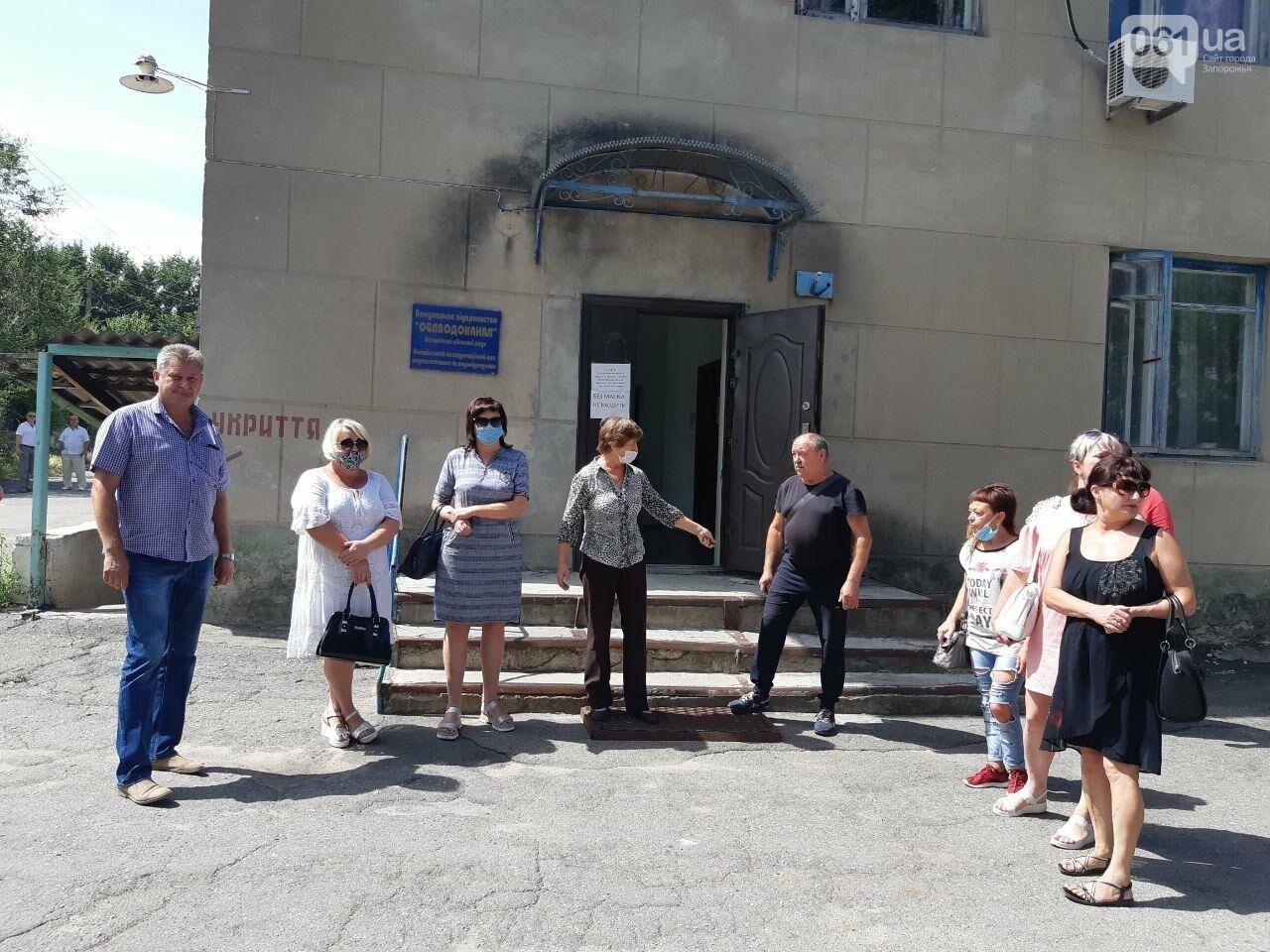 Работники водоканала грозятся перекрыть трассу в Васильевке: люди требуют, чтобы им выплатили зарплату, - ФОТО , фото-3