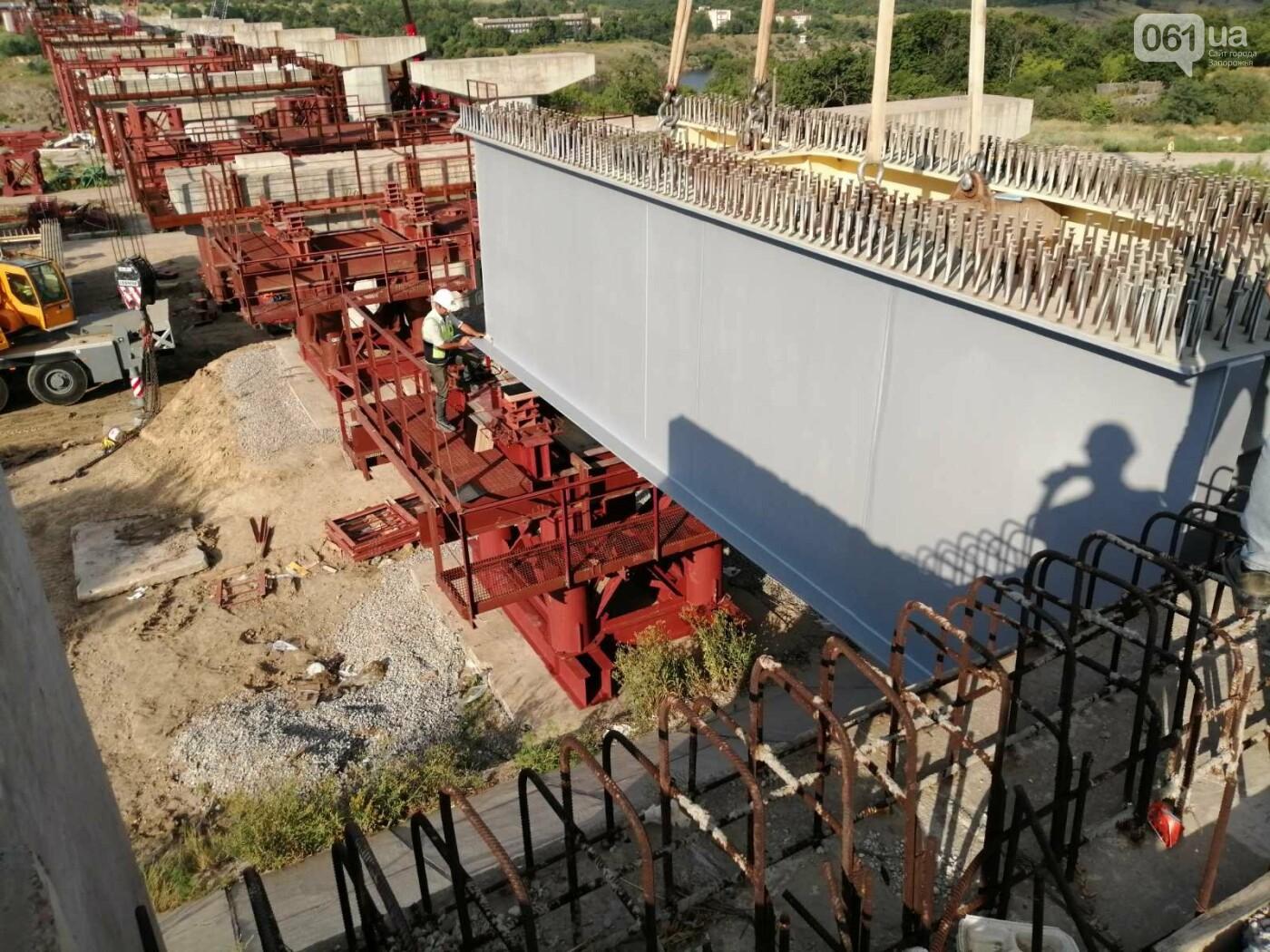 В Запорожье полным ходом идут монтажные работы на мостах через Днепр, - ФОТО, фото-2