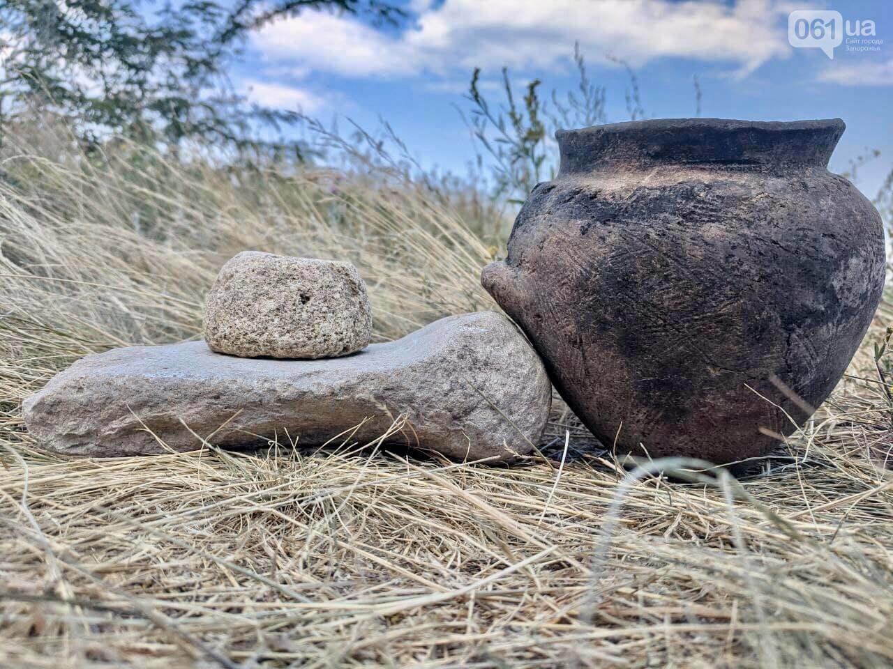 На раскопках Мамай-Горы заработал бульдозер: что уже удалось найти археологам, - ФОТО, фото-11