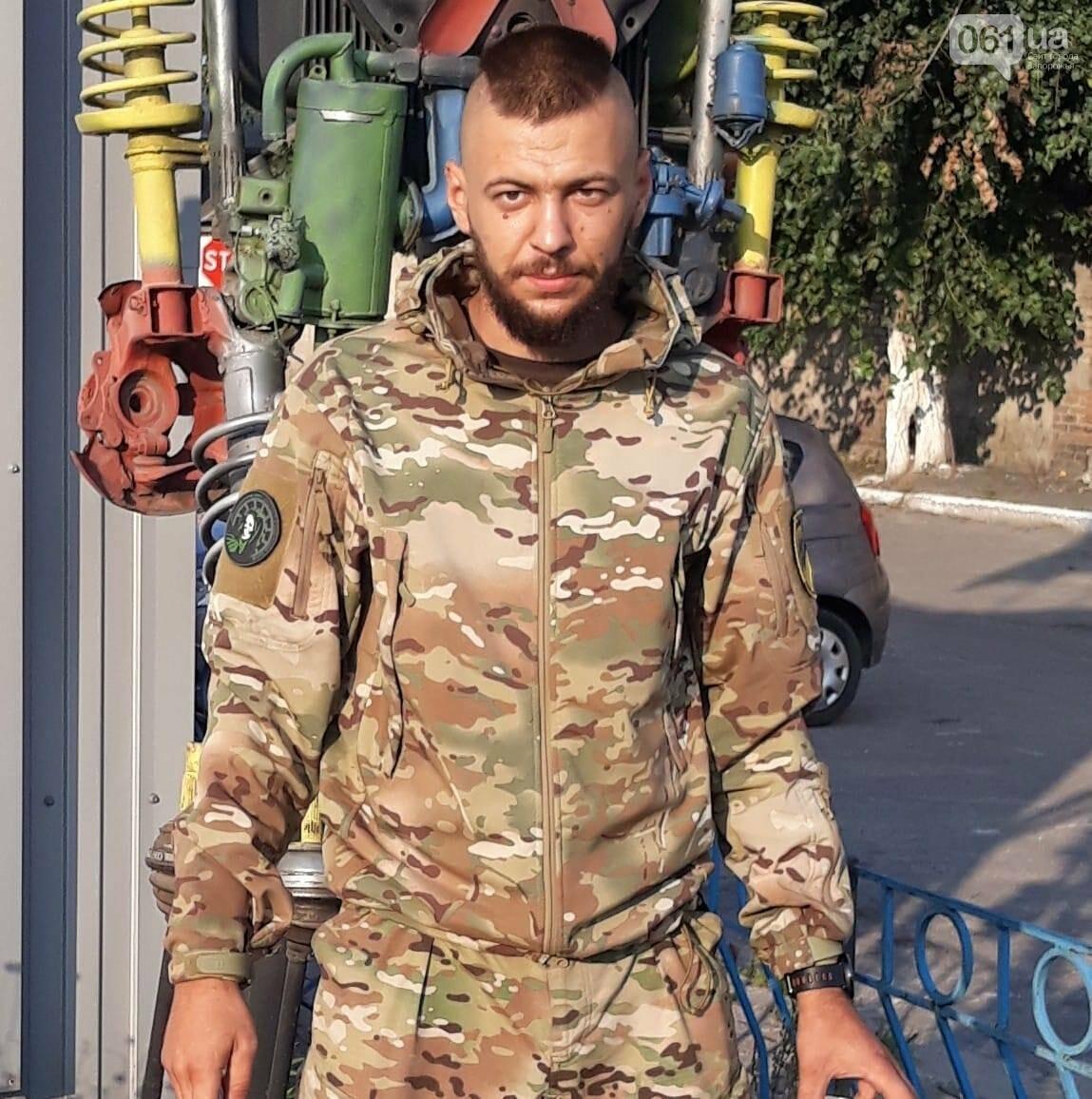 """В Запорожье избили бойца батальона """"Азов"""", который заступился за девушку - нападавшего задержали , фото-1"""