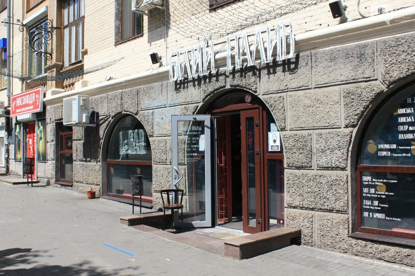 После жалоб местных жителей на шум проверили популярное кафе в центре Запорожья, фото-1
