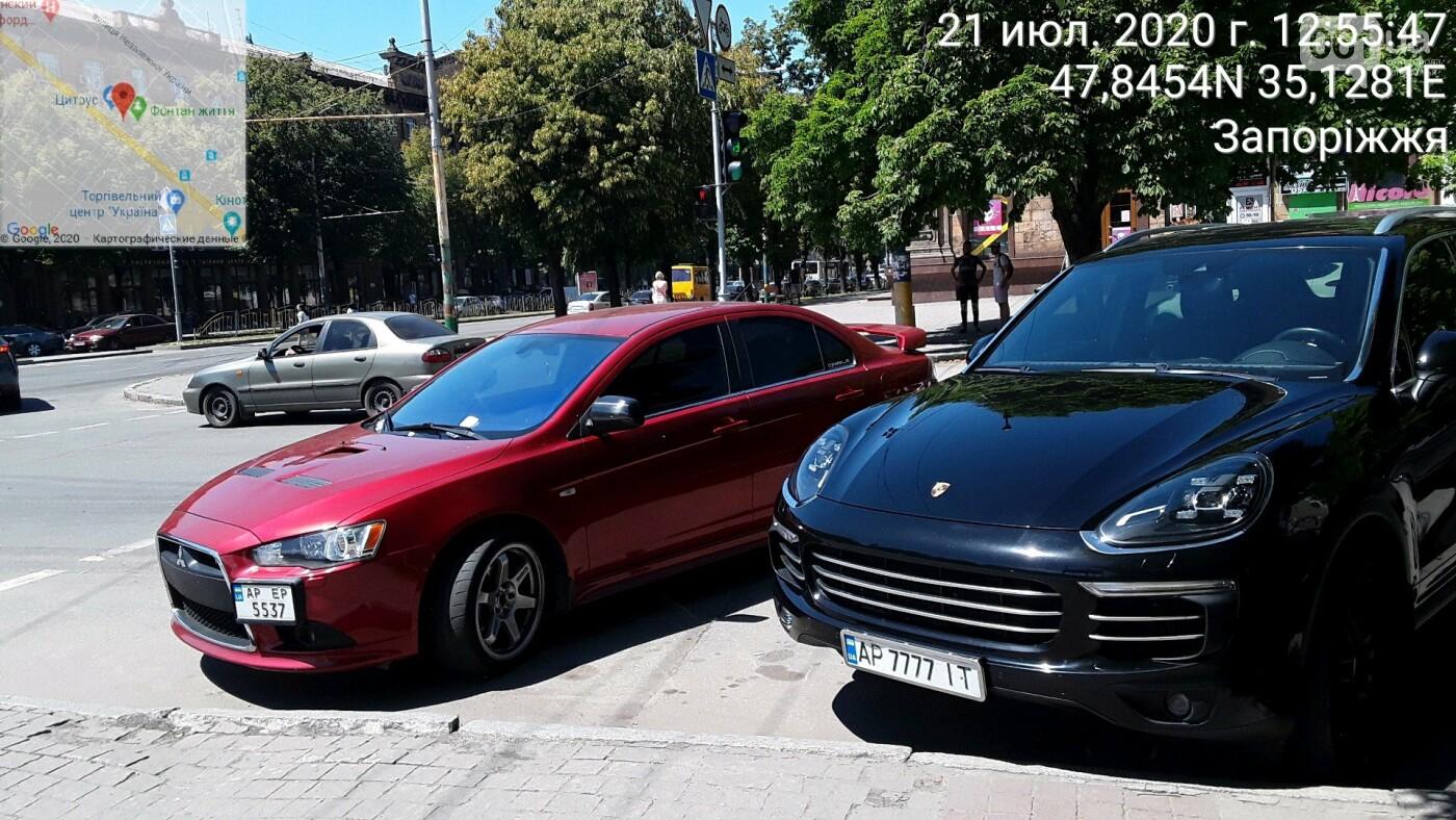 В Запорожье за неделю парковщики выписали штрафов нарушителям на 120 тысяч гривен, фото-4