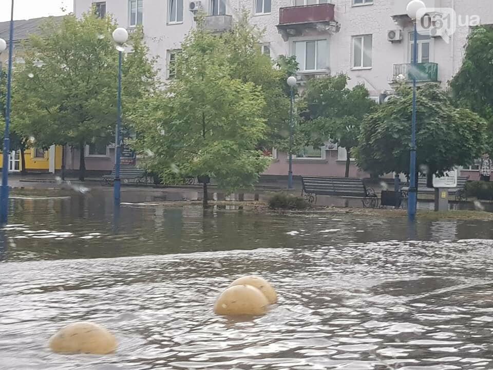 В результате сильного ливня затопило улицы Бердянска, - ФОТО, ВИДЕО , фото-6