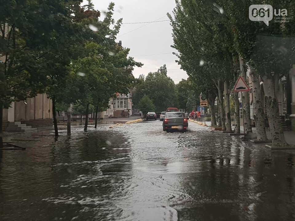 В результате сильного ливня затопило улицы Бердянска, - ФОТО, ВИДЕО , фото-5