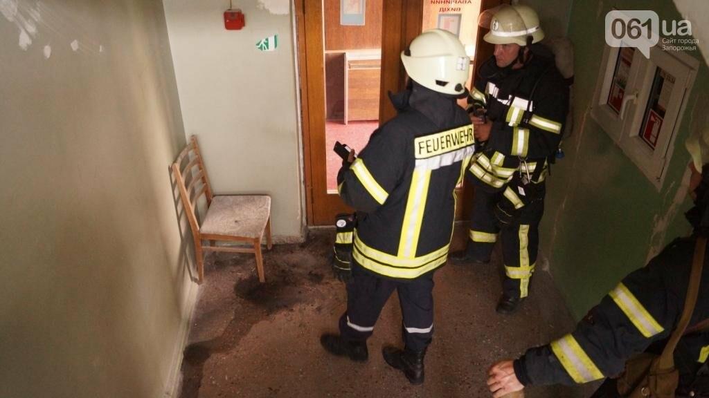 """В Запорожье из-за дыма на одном из этажей отеля """"Интурист"""" к зданию приехали 15 пожарных машин , фото-4"""