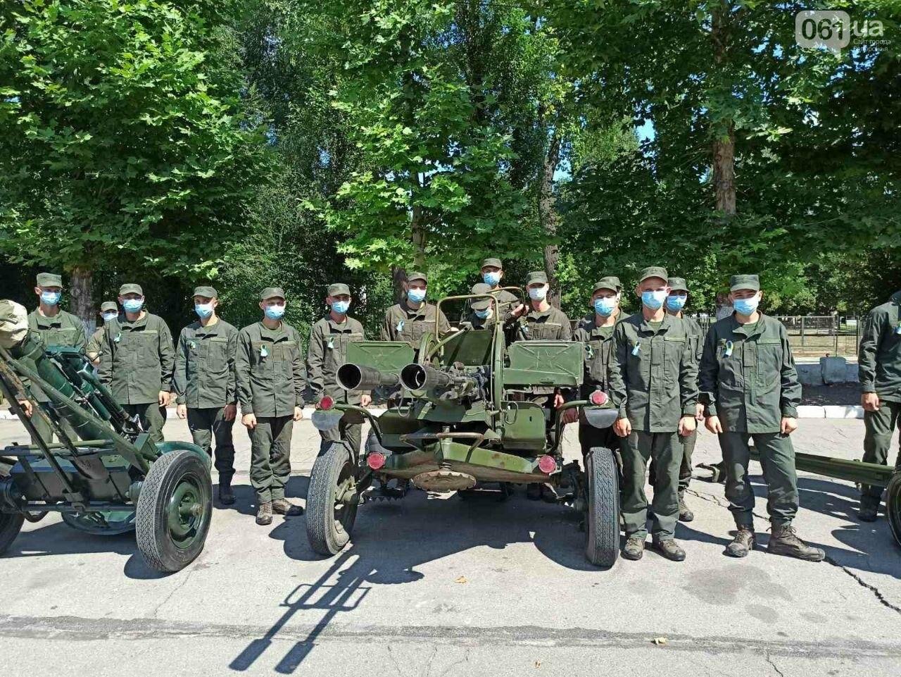 В Запорожье новобранцы НГУ приняли присягу, - ФОТО, фото-9