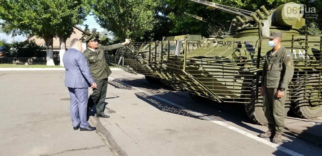 В Запорожье новобранцы НГУ приняли присягу, - ФОТО, фото-10
