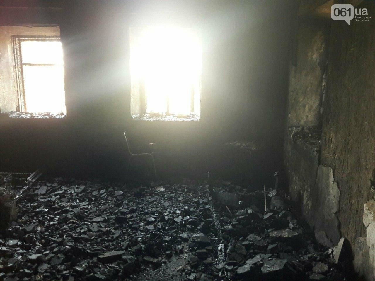 В Запорожской области во время пожара погибла пенсионерка, фото-1
