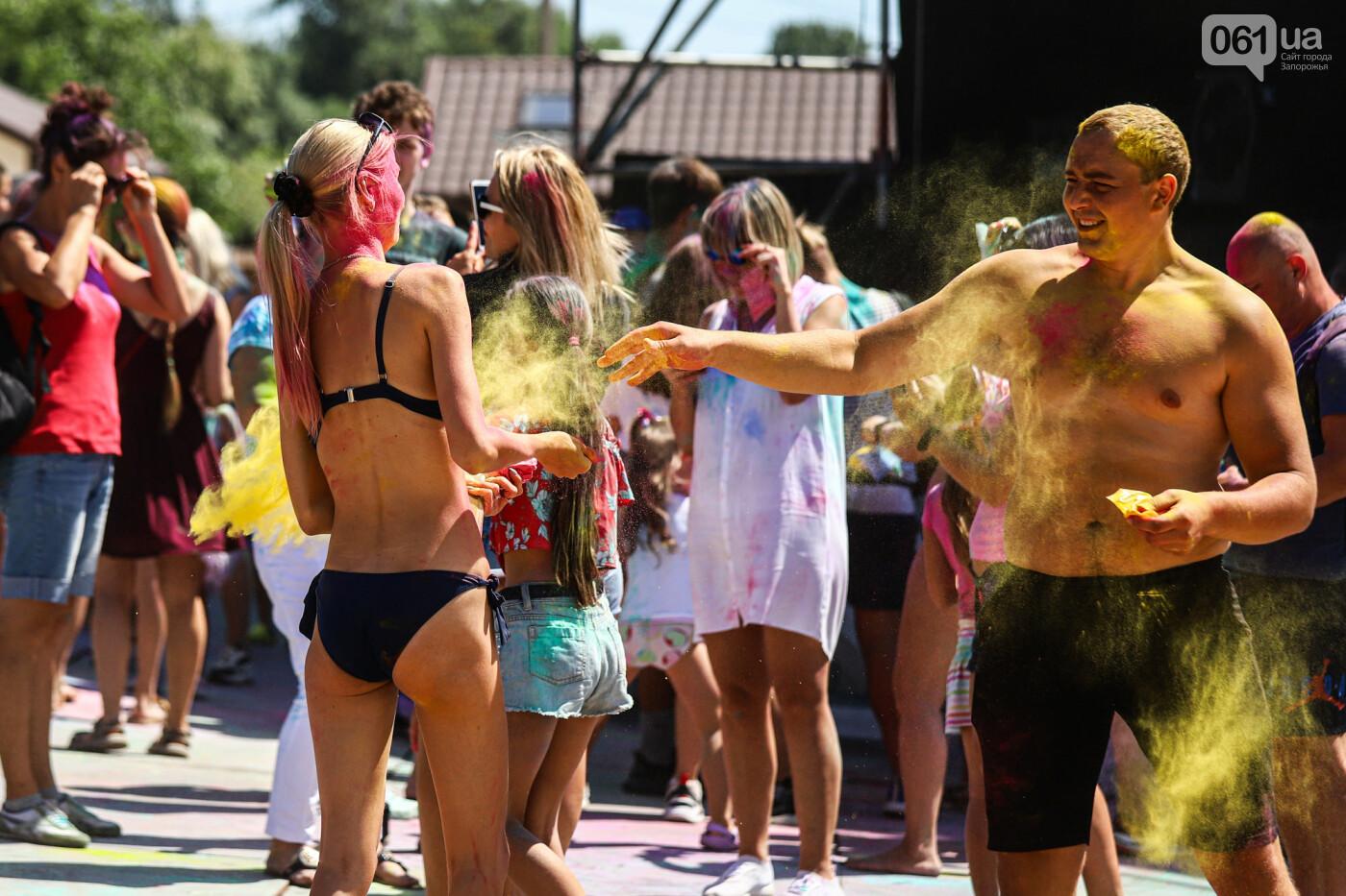 Сотни запорожцев приняли участие в фестивале красок Холи, - ФОТОРЕПОРТАЖ, фото-3