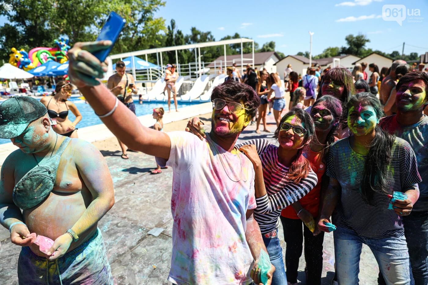 Сотни запорожцев приняли участие в фестивале красок Холи, - ФОТОРЕПОРТАЖ, фото-6