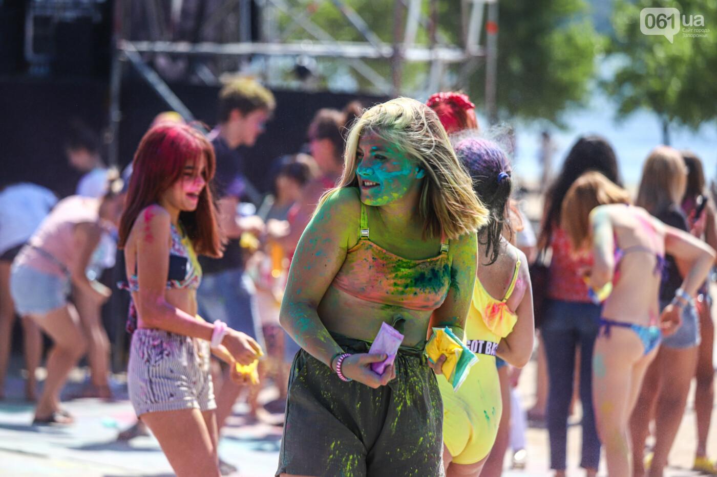Сотни запорожцев приняли участие в фестивале красок Холи, - ФОТОРЕПОРТАЖ, фото-7