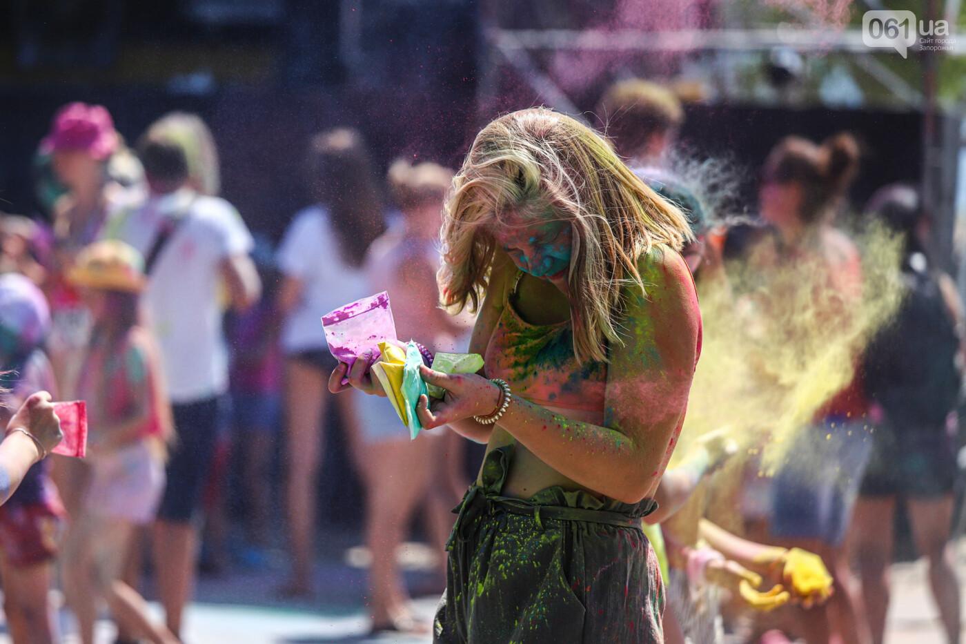 Сотни запорожцев приняли участие в фестивале красок Холи, - ФОТОРЕПОРТАЖ, фото-8