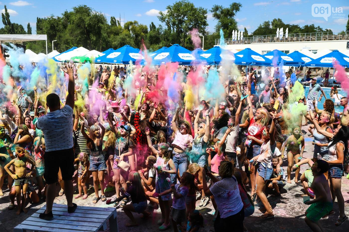 Сотни запорожцев приняли участие в фестивале красок Холи, - ФОТОРЕПОРТАЖ, фото-17