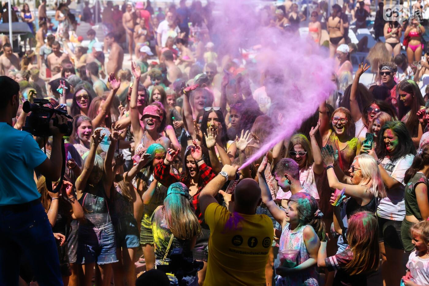 Сотни запорожцев приняли участие в фестивале красок Холи, - ФОТОРЕПОРТАЖ, фото-18