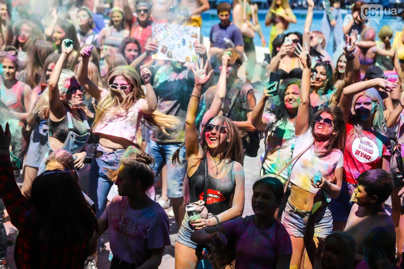 Сотни запорожцев приняли участие в фестивале красок Холи, - ФОТОРЕПОРТАЖ, фото-22