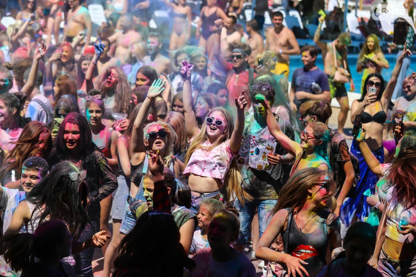 Сотни запорожцев приняли участие в фестивале красок Холи, - ФОТОРЕПОРТАЖ, фото-23