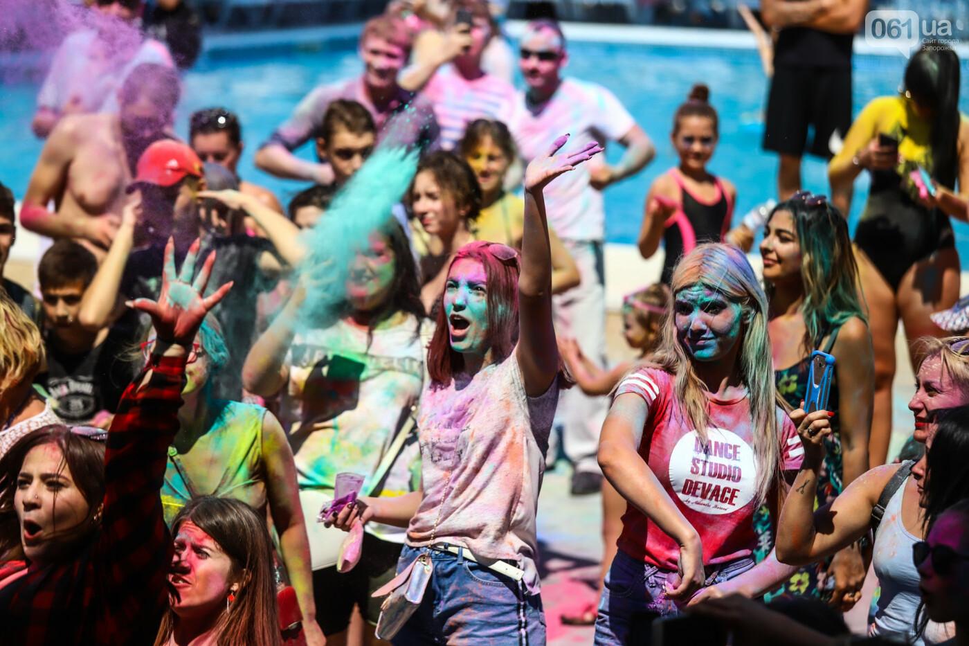 Сотни запорожцев приняли участие в фестивале красок Холи, - ФОТОРЕПОРТАЖ, фото-25