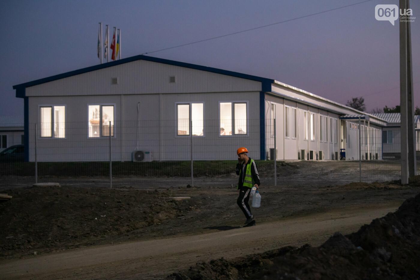 В Запорожье собирают балочный мост через Старый Днепр – строители работают даже ночью, - ФОТОРЕПОРТАЖ , фото-25