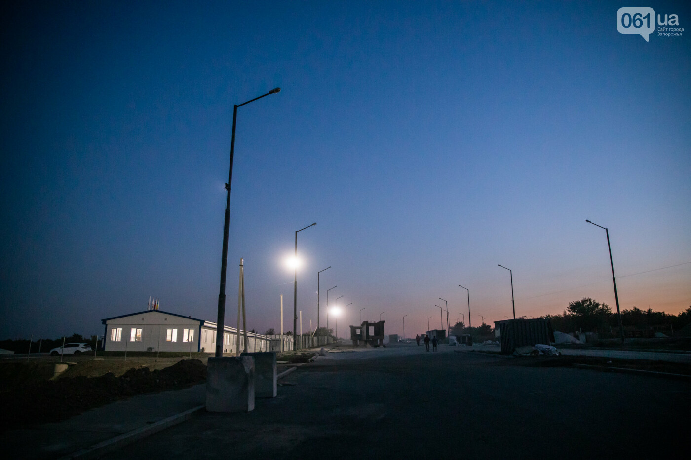 В Запорожье собирают балочный мост через Старый Днепр – строители работают даже ночью, - ФОТОРЕПОРТАЖ , фото-26