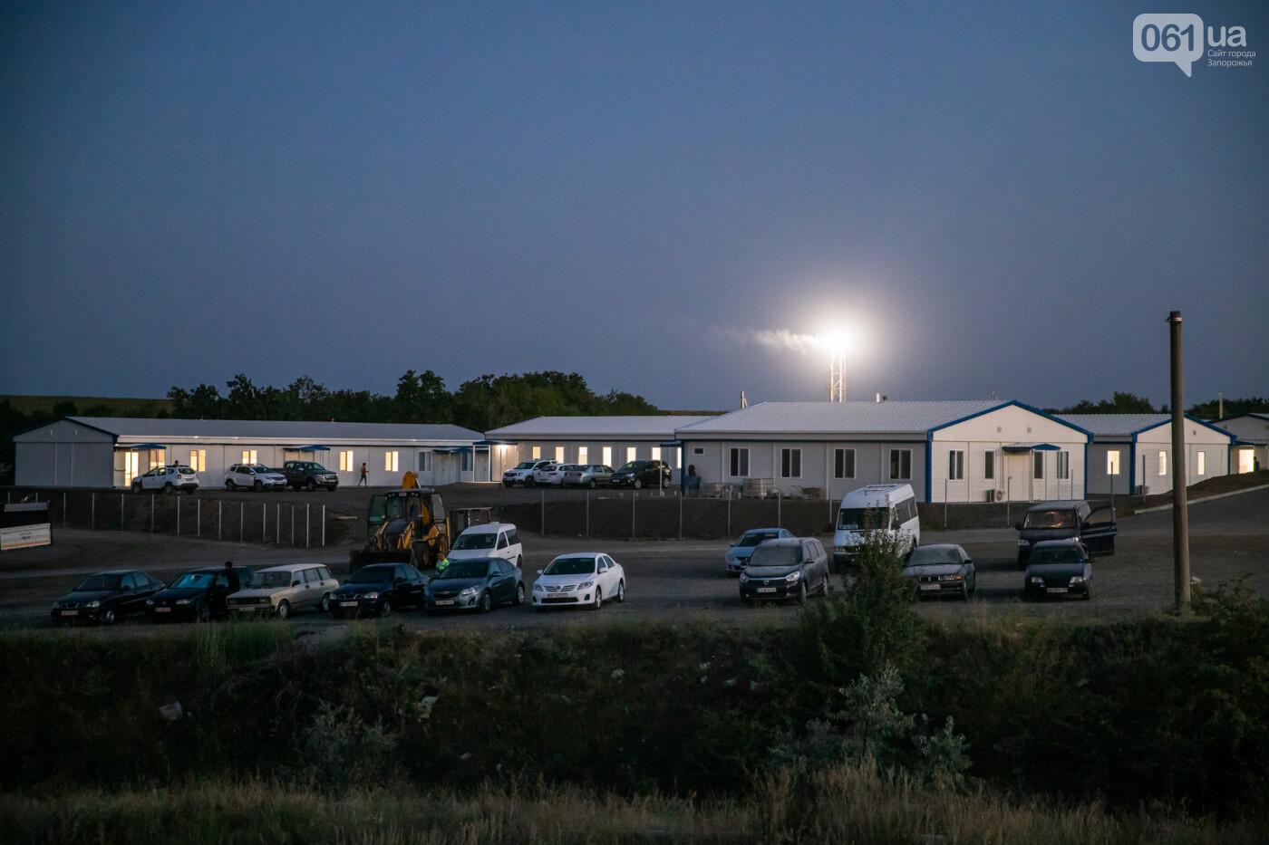 В Запорожье собирают балочный мост через Старый Днепр – строители работают даже ночью, - ФОТОРЕПОРТАЖ , фото-28