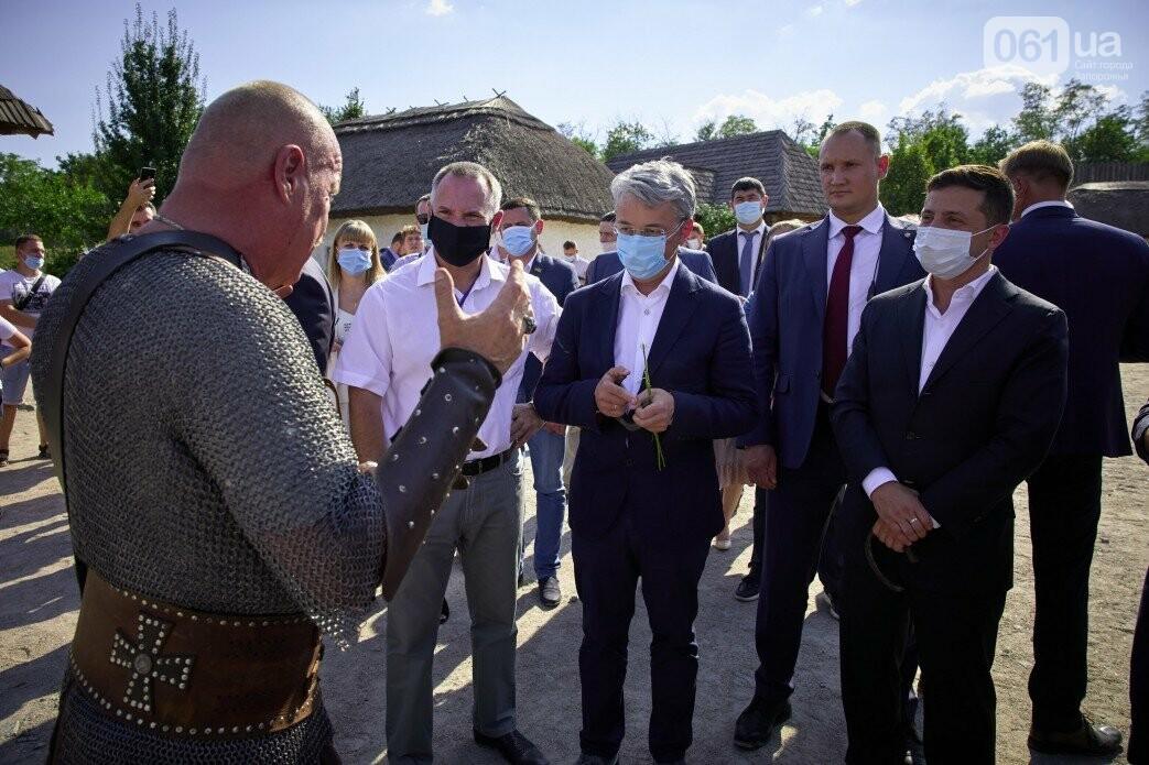 Визит Зеленского в Запорожье в фотографиях и высказываниях, фото-43